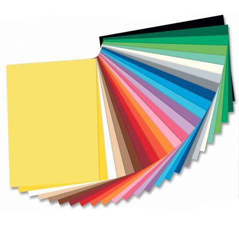 Hartie colorata, carton colorat
