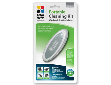 ColorWay CW-4107 LCD Screen Compact Portable Cleaning Kit