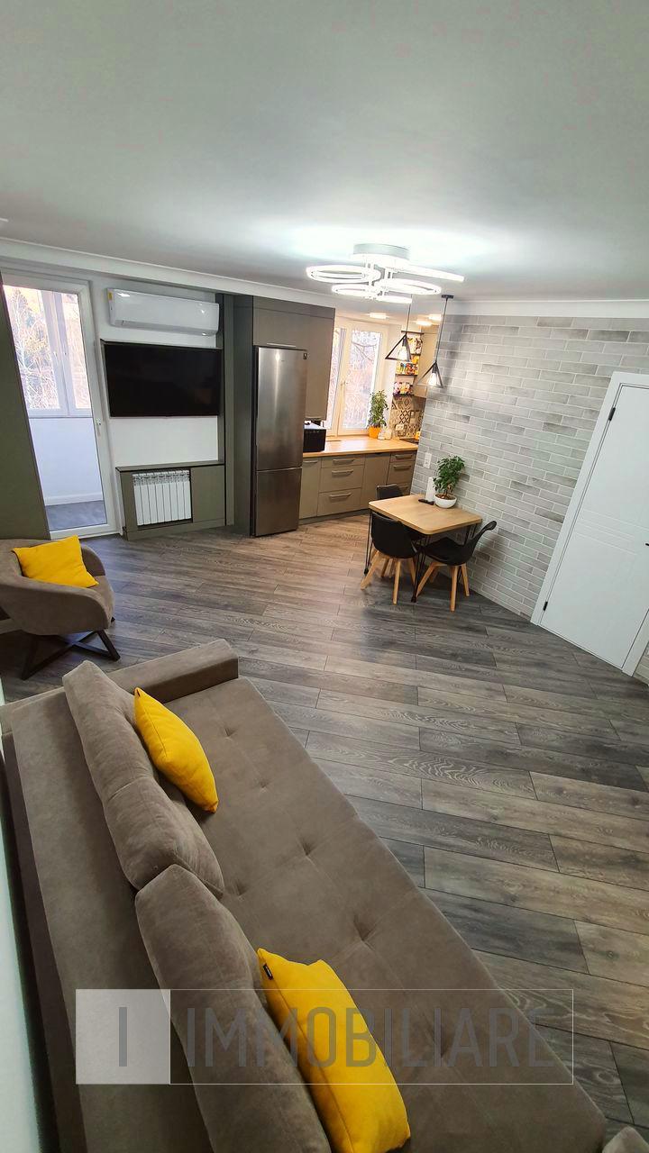 Apartament cu 2 camere, sect. Rîșcani, str. Studenților.