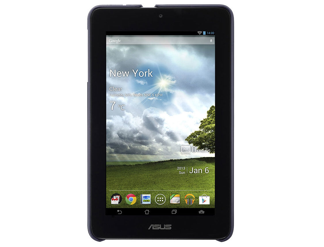 ASUS PAD-05 Spectrum Cover for MeMo Pad + Screen Protector, Black (husa tableta/чехол для планшета)