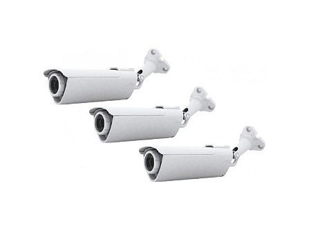 Ubiquiti AirCam Performance IP Camera 3 pack, Wall / Ceiling Mount, 30 FPS, 1 MP/HDTV 720p, 4.0 mm / F1.5, PoE, Viewing angle 47/31/54, (3-pack), PoE (IP camera/сетевая камера IP)