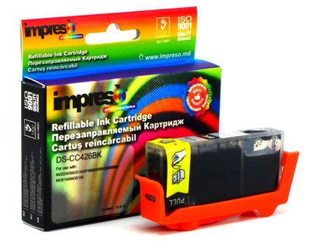 Impreso IMP-DS-CC426C Cyan Refillable Canon iP4840/4940/ MG5140/5240/ 5340/6140/6240/ 8140/8240/ MX714/884/ 894/ iX6540, w/chip (10ml) (cartus/картридж)