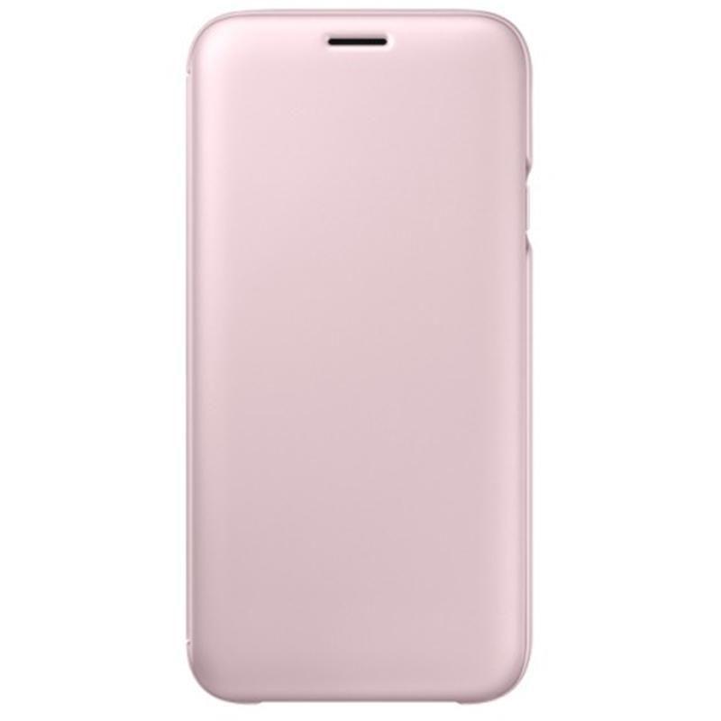 3f8a0f99af9 cumpără Husă telefon Samsung EF-WJ730, Galaxy J7 2017, Flip Wallet, Pink