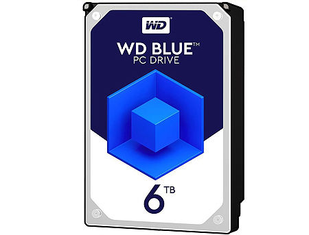 "3.5"" HDD 6TB Western Digital Blue WD60EZRZ, 5400 RPM, SATA3 6GB/s, 64MB (hard disk intern HDD/внутренний жесткий диск HDD)"