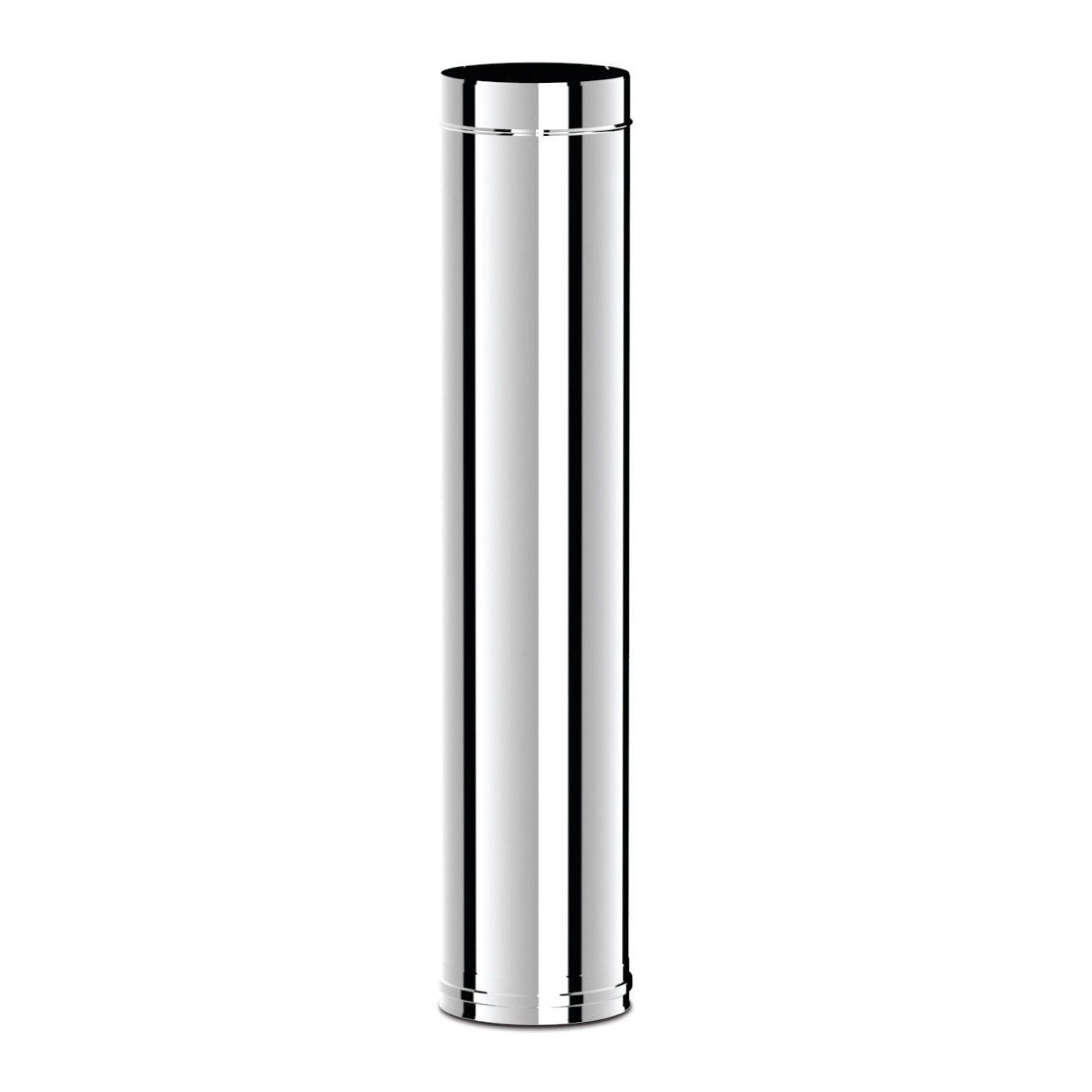 Ø130 Труба дымоходная 1000 mm (inox 304)