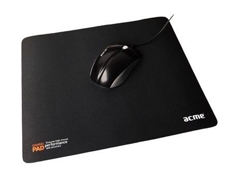ACME rubber based gaming mouse pad (black), gamer (covoras pentru mouse/коврик для мыши)