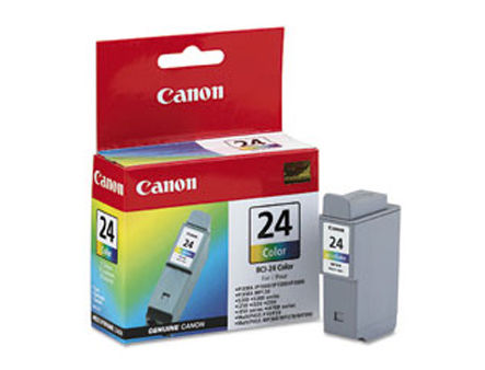 Tank Canon BCI-24, tri-color for S200,S300, S330,i320 (170 pages ) (cartus/картридж)