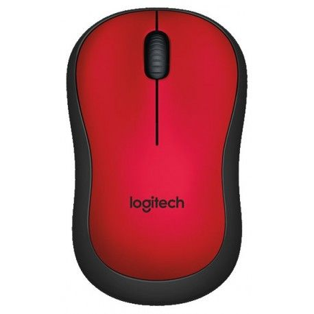 Logitech wireless mouse red