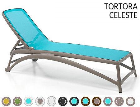 Sezlong Nardi ATLANTICO TORTORA-celeste 40450.10.075