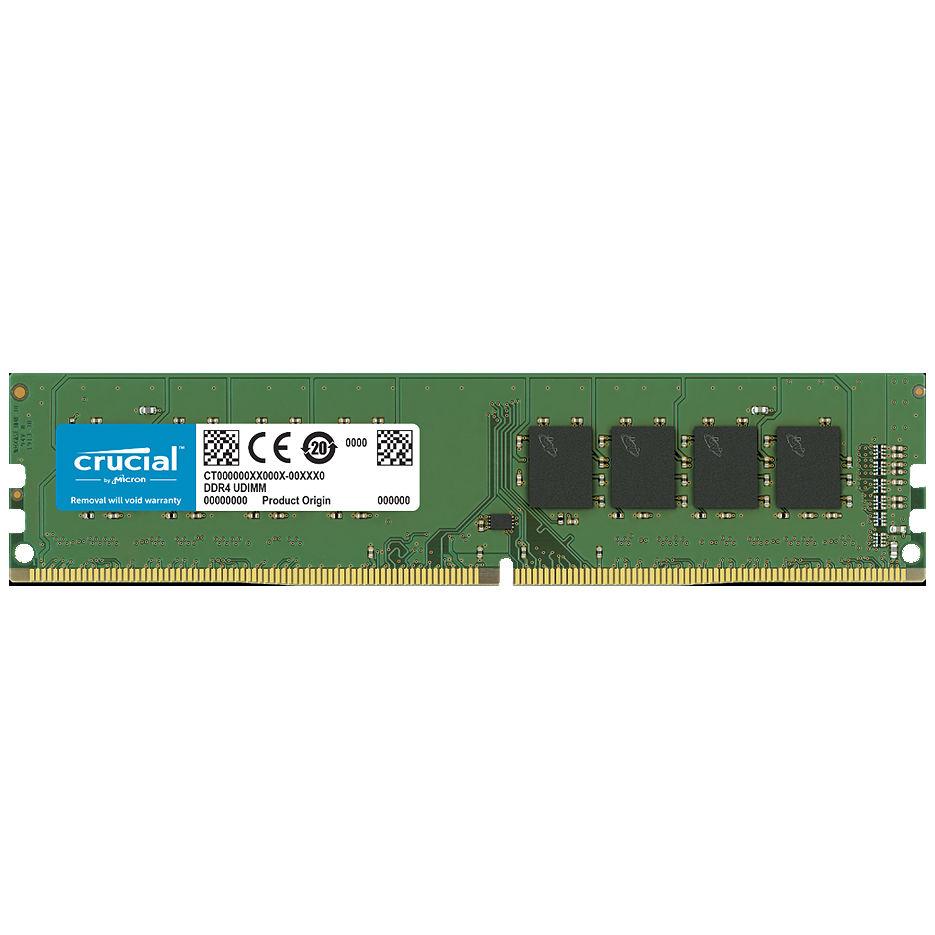4GB DDR4 Crucial CT4G4DFS8266 DDR4 4GB PC4-21300 2666MHz CL19, Retail (memorie/память)