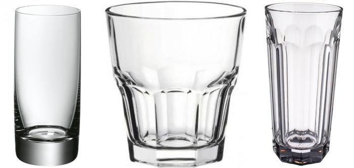Тумблеры, стаканы и кружки