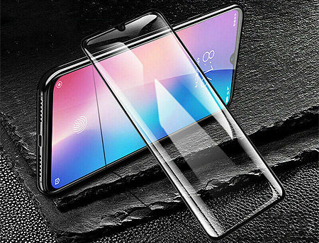 410011 Screen Geeks sticla protectie Xiaomi Redmi 8 Full Cover Glass Pro All Glue 4D, Black (защитное стекло для смартфонов Xiaomi, в асортименте)