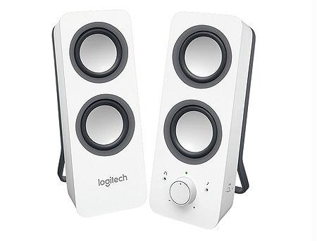 Logitech Z200 Snow White Stereo Speakers 2.0 ( RMS 5W, 2x2.5W satel.), 980-000811 (boxe sistem acustic/колонки акустическая сиситема)