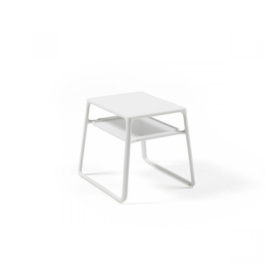 Столик Nardi POP BIANCO 40048.00.000 (Столик для сада лежака террасы балкон)