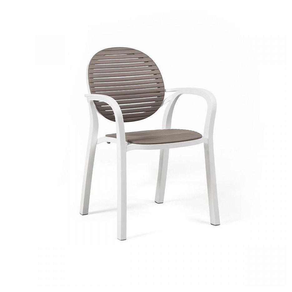 Кресло Nardi GARDENIA BIANCO-TORTORA 40238.00.010 (Кресло для сада и террасы)