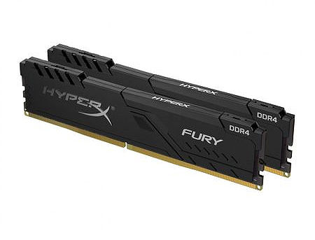 16GB DDR4 Dual-Channel Kit Kingston HyperX FURY Black HX430C15FB3K2/16 16GB (2x8GB) DDR4 PC4-24000 3000MHz CL15, Retail (memorie/память)