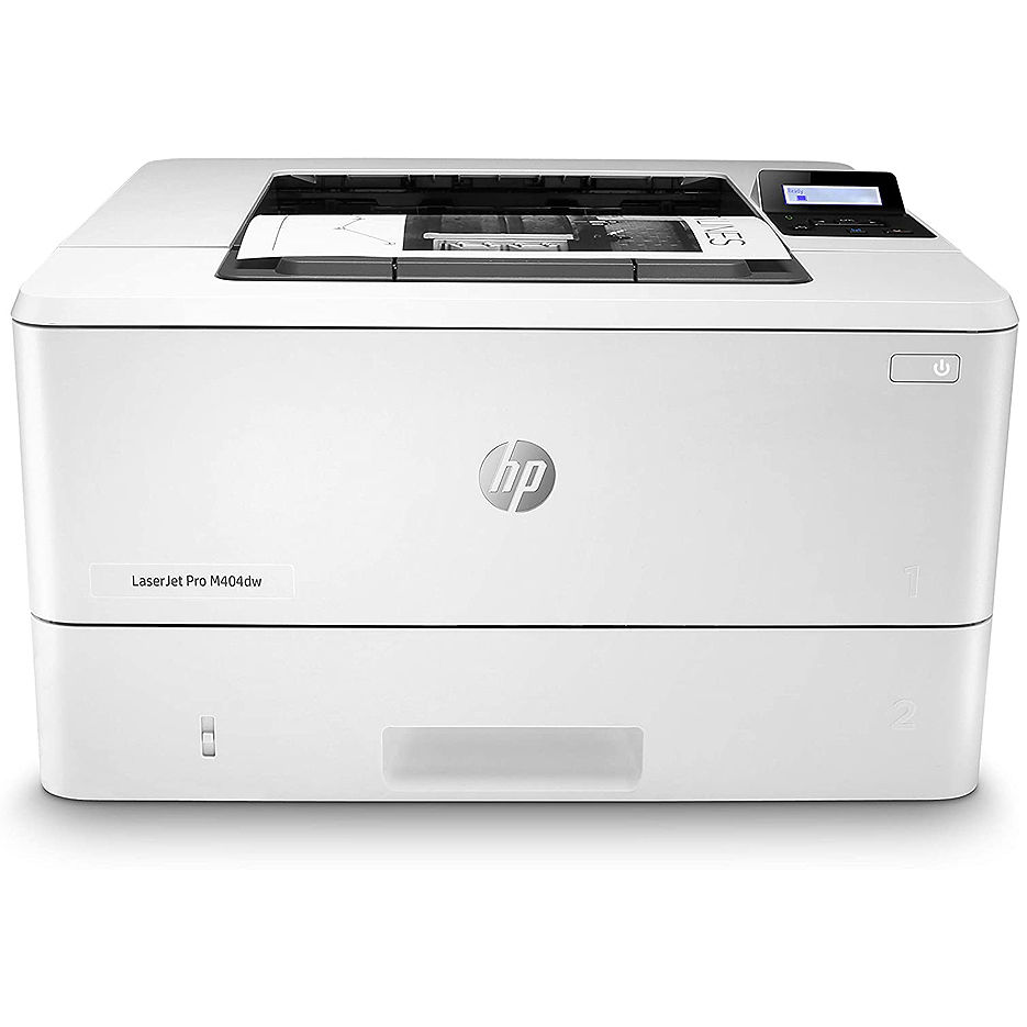 Printer HP LaserJet Pro M404dw, White,  A4, 1200 dpi, up to 38 ppm, 256MB, Duplex, Up to 80000 pages/month, USB 2.0, WiFi Direct, Ethernet 10/100, PCL 5, PCL 6,