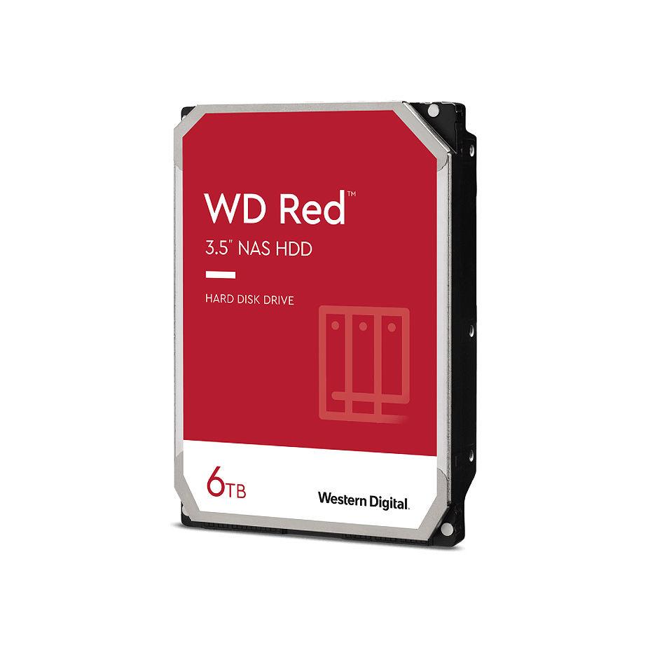 """3.5"""" HDD 6TB Western Digital Red (NAS Storage) WD60EFAX, IntelliPower, SATA3 6GB/s, 256MB (hard disk intern HDD)"""