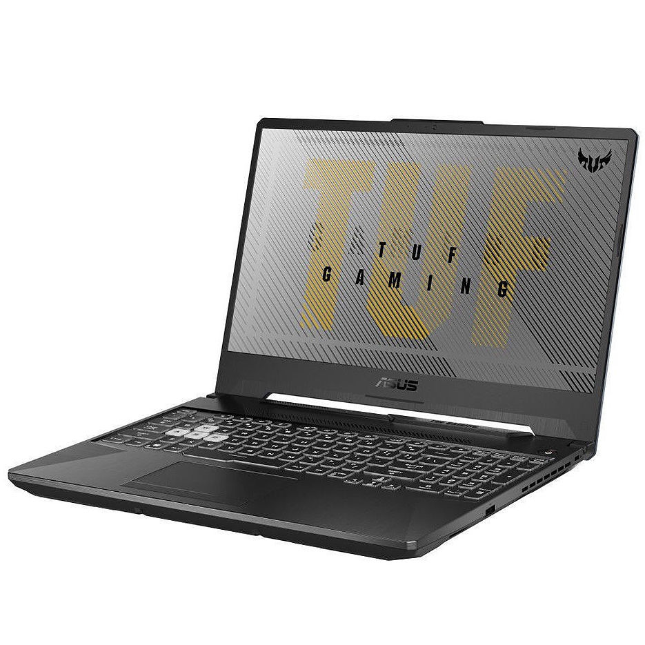 "15.6"" ASUS TUF FA506IV, AMD Ryzen 9 4900H 8-Cores 3.3-4.4GHz/16GB DDR4/M.2 NVMe 1TB SSD/GeForce RTX2060 6GB GDDR6/WiFi 802.11AC/BT5.0/USB Type C/HDMI/Webcam HD/Backlit RGB Keyboard/15.6"" FHD IPS LED-backlit 144Hz (1920x1080)/NoOS/Gaming FA506IV-HN185"