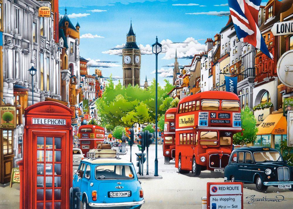 Картинки с рисунком города