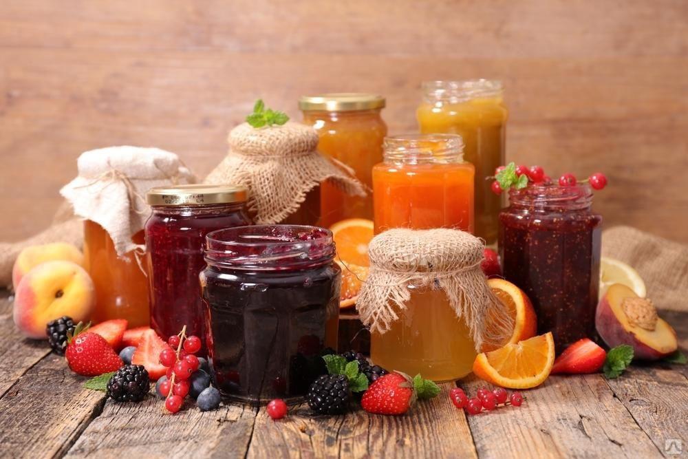 Мёд, Варенье, Протертая ягода, Сиропы