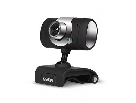 SVEN Webcam IC-545, Microphone, Video 640x480, USB 2.0 (camera web/веб-камера)