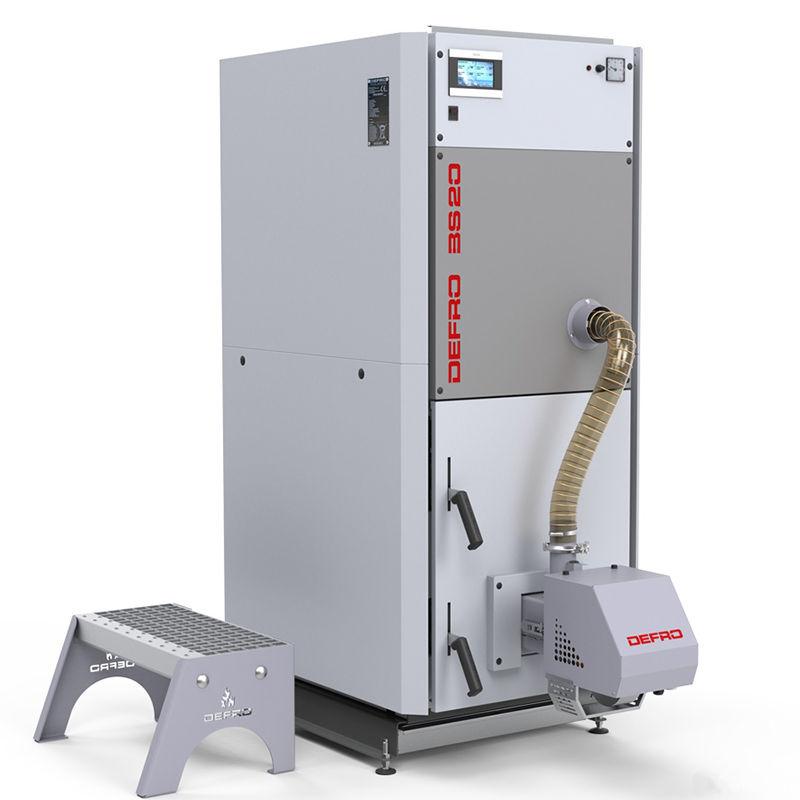Твердотопливный котёл Defro BioSlim 15 кВт