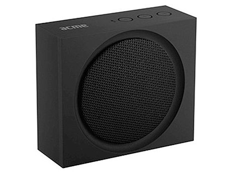 ACME PS101 Portable Bluetooth speaker, Black, 3W, 20–20 000 Hz, Li-ion, 3.7 V, 1200 mAh, www