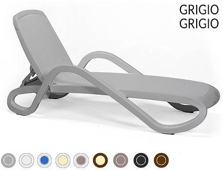Sezlong Nardi ALFA GRIGIO-grigio 40416.03.086