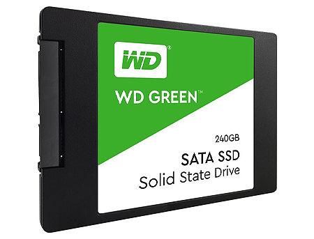 "240GB SSD 2.5"" WD Green WDS240G2G0A, 7mm, Read 545MB/s, Write 465MB/s, SATA III 6.0 Gbps (solid state drive intern SSD/внутрений высокоскоростной накопитель SSD)"