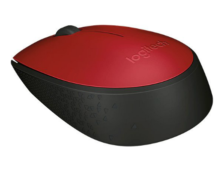 Logitech M171 Red Wireless Mouse, USB, 910-004641 (mouse fara fir/беспроводная мышь)