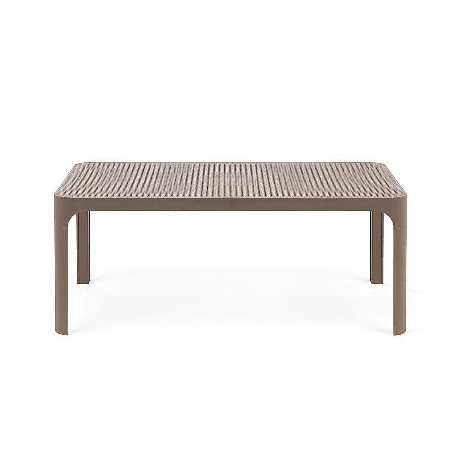 Стол кофейный Nardi NET TABLE 100 TORTORA 40064.10.000 (Стол кофейный для сада лежака террасы балкон)