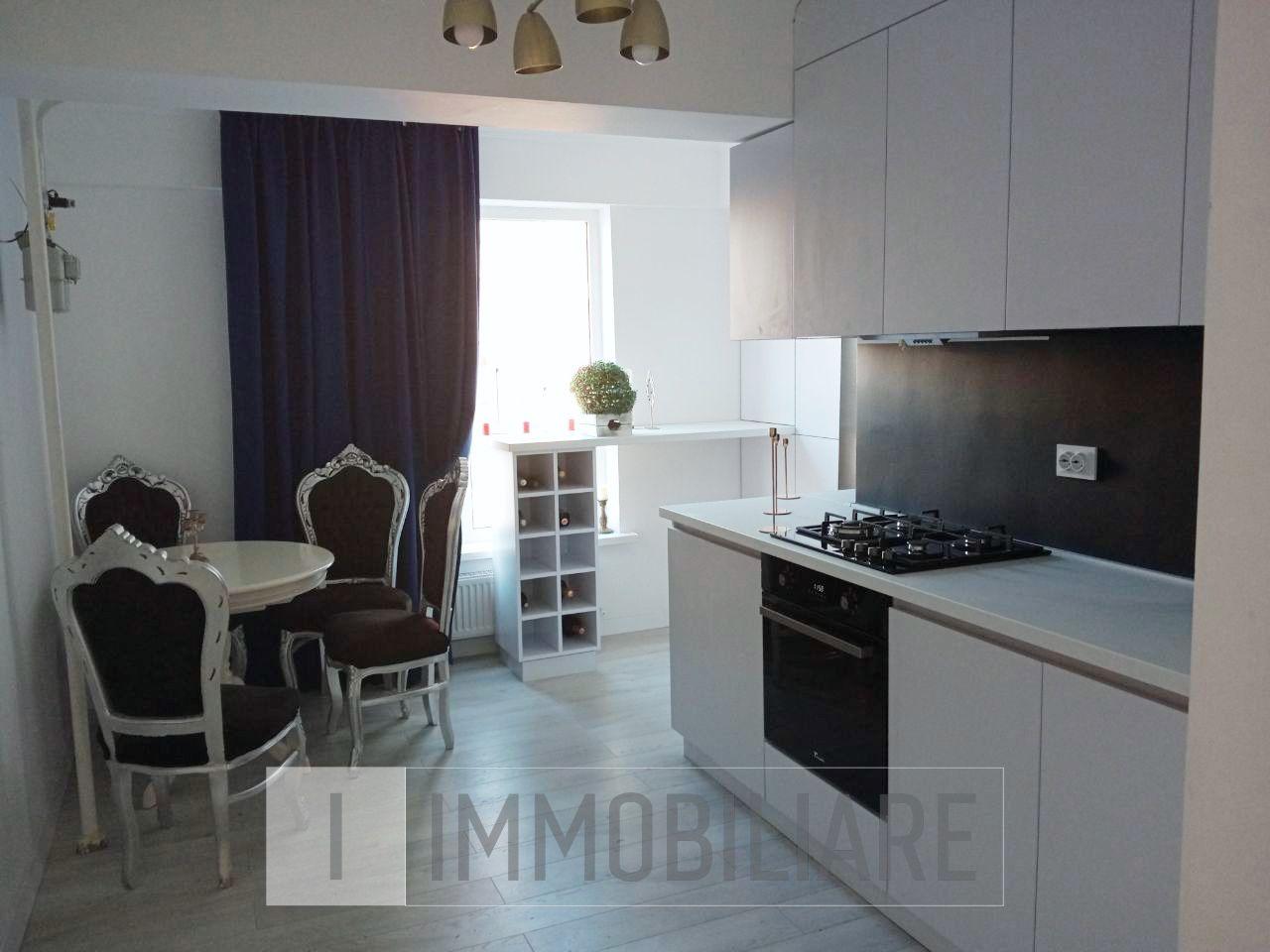 Apartament cu 2 camere+living, sect. Centru, str. Testemițanu.