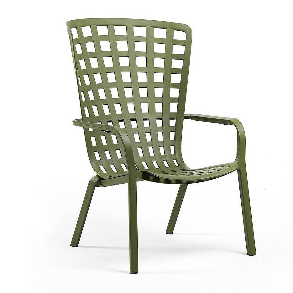 Лаунж-кресло Nardi FOLIO AGAVE 40300.16.000.04 (Лаунж-кресло для сада и террасы)