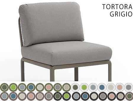 Element Central Canapea Nardi KOMODO ELEMENTO CENTRALE acrilic fabric (32 combinatii de culori)