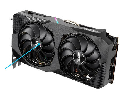 ASUS DUAL-RX5500XT-O8G-EVO, AMD Radeon RX 5500 XT 8GB GDDR6, 128-bit, GPU/Mem clock 1865/14000MHz, PCI-Express 4.0, HDMI/3xDisplay Port 1.4 (placa video/видеокарта)