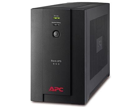 UPS APC Back-UPS BX950U-GR, AVR, 950VA/480Watts, Input: 150-280V, 50/60 Hz +/- 3 Hz (auto sensing), Line Interactive, Schuko Sockets