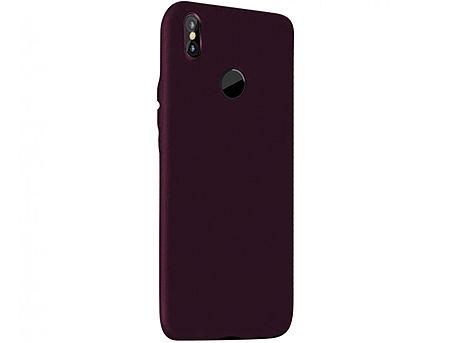 730011 Husa Screen Geeks Touch Xiaomi Redmi Note 5 Pro TPU, Wine Red (чехол накладка в асортименте для смартфонов Xiaomi, силикон)