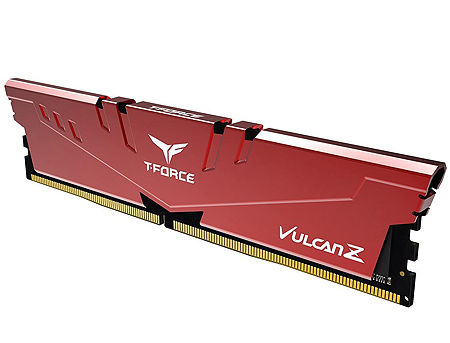 8GB DDR4 Team Group T-Force Vulcan Z Red TLZRD48G3200HC16C01 DDR4 PC4-25600 3200MHz CL16, Retail (memorie/память)