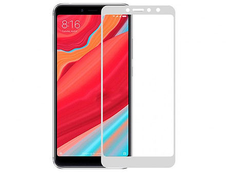 620016 Screen Geeks sticla protectie Xiaomi Redmi S2 Full Cover Glass Pro All Glue, White (защитное стекло для смартфонов Xiaomi, в асортименте)