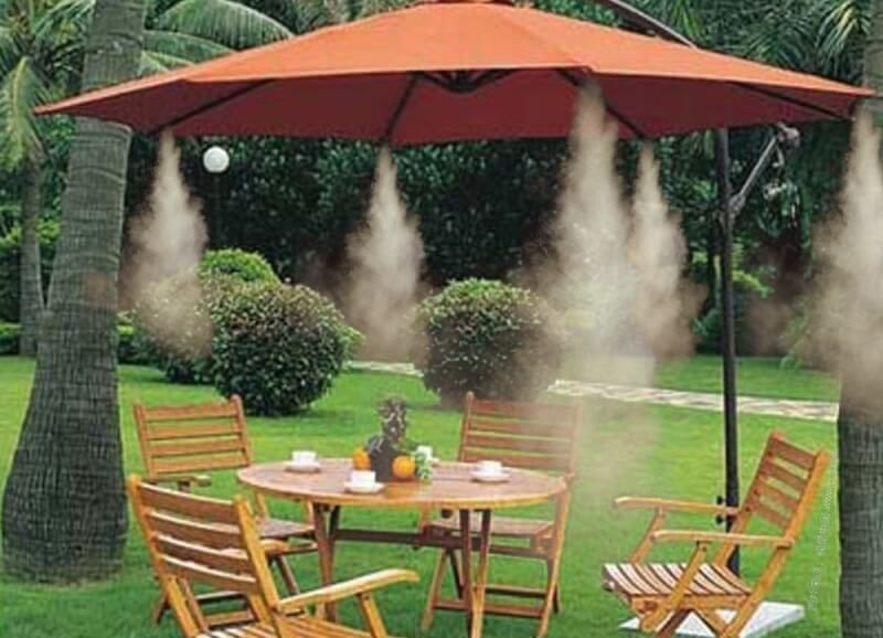 Sistem racire cu ceata