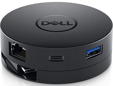 Dell USB-C Mobile Adapter - DA300 (492-BCJL), 1xUSB, 1xUSB-C, 1xHDMI, 1xVGA, 1xDisplayPort, 1x Ethernet 1000 RJ-45