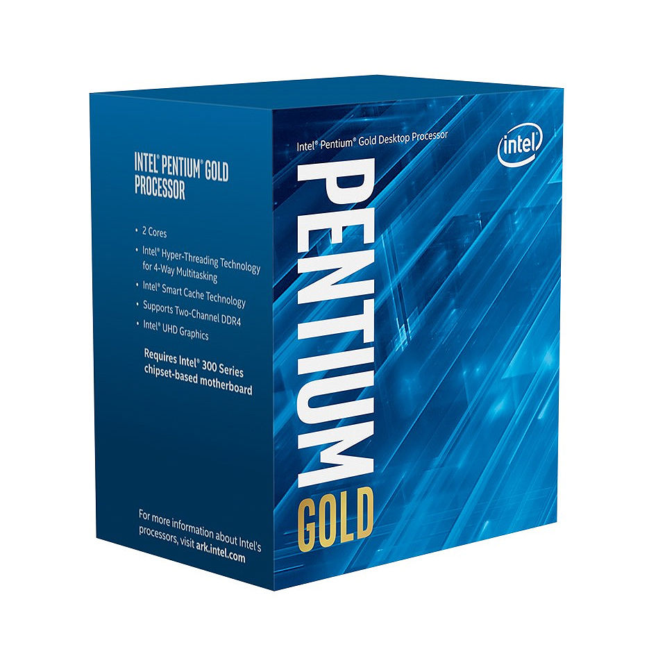CPU Intel Pentium Gold G6400 4.0GHz Dual Core 4-Threads, (LGA1200, 4.0GHz, 4MB, Intel UHD Graphics 610) BOX with Cooler, BX80701G6400 (procesor/процессор)
