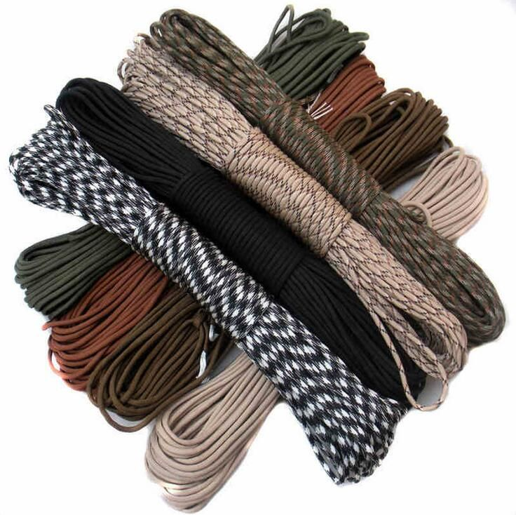 Веревки, карабины, шнуры