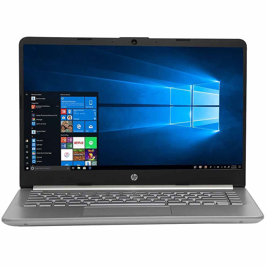 "Ноутбук 14"" HP 14-DQ1043 Silver, Intel i3-1005G1 1.2-3.4GHz/8GB DDR4/256GB NVMe M.2 SSD/Intel UHD Graphics/WiFi 802.11AC/Bluetooth/WebcamHD/Backlit Keyboard/14"" FHD IPS BrightView micro-edge WLED-backlit (1920x1080)/Windows10"
