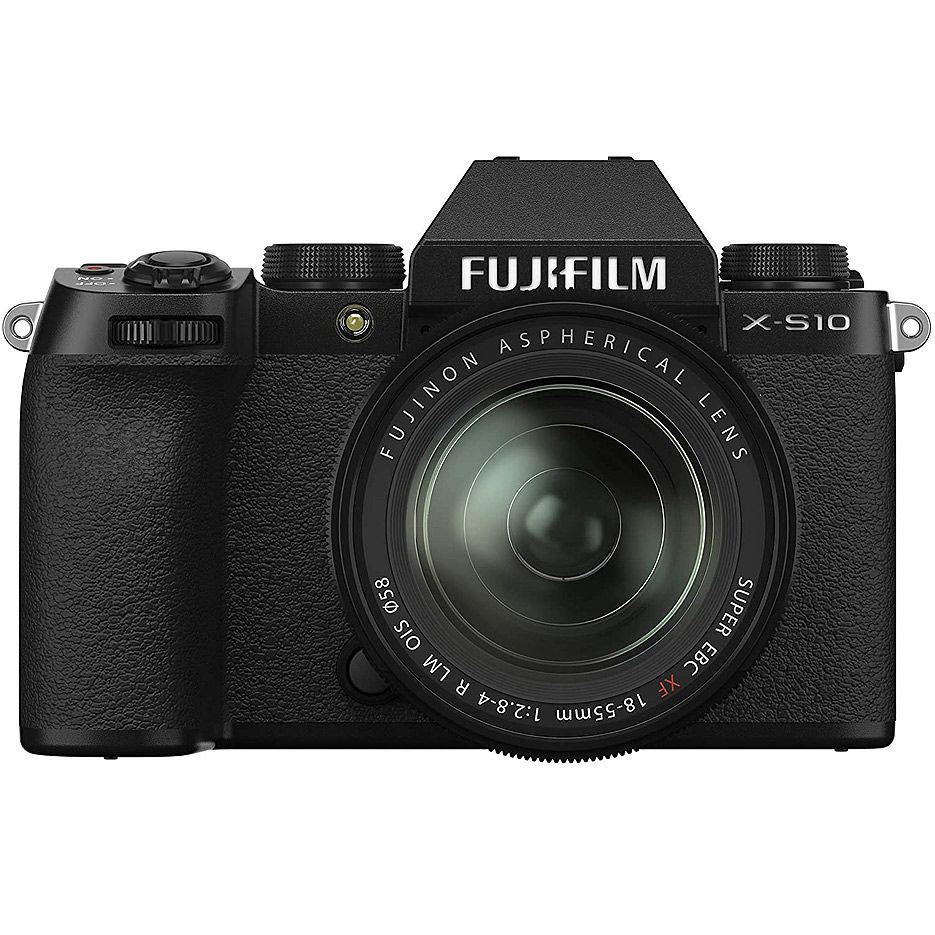 Fujifilm X-S10 black XC15-45mm kit, Mirrorless Digital Camera Fujifilm X System (Aparat fotografic)