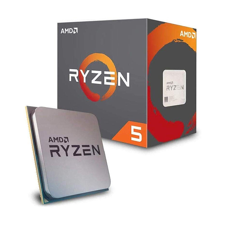 CPU AMD Ryzen 5 PRO 4650G 6-Core, 12 Threads, 3.7-4.2GHz, Radeon Vega Graphics, 7 GPU Cores, 11MB Cache, AM4, Wraith Stealth Cooler