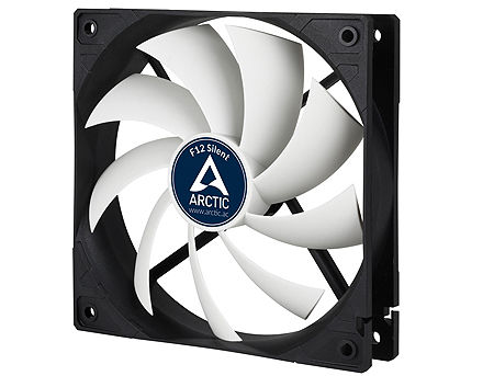 Case/CPU FAN Arctic F12 Silent, 120x120x25 mm, 3-pin, 800rpm, Noise 0.08 Sone (@ 800 RPM), 37 CFM / 62.9 m3/h