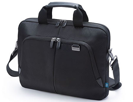 "Dicota D30990 Slim Case PRO Notebook Case 12""-14.1"" Black (geanta laptop/сумка для ноутбука)"