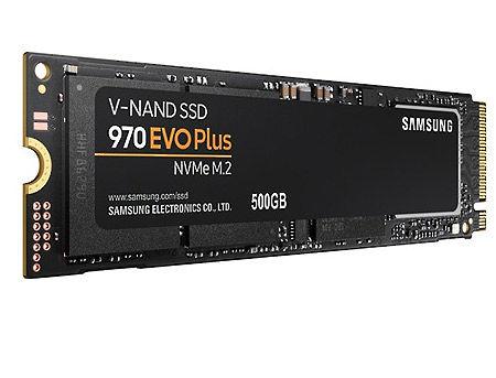 500GB SSD NVMe M.2 Gen3 x4 Type 2280 Samsung 970 EVO Plus MZ-V7S500BW, Read 3500MB/s, Write 3200MB/s (solid state drive intern SSD/внутрений высокоскоростной накопитель SSD)